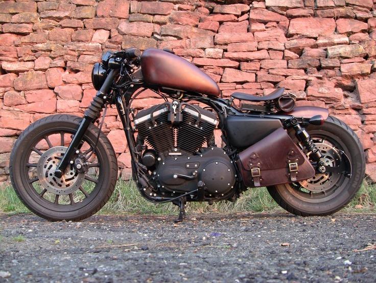 Top Bobber Inspiration - Harley-Davidson Sportster Iron 883 custom  BG84