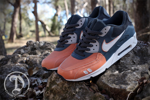 "declaville:  Nike ""Salmon Toe"" Air Max 90"