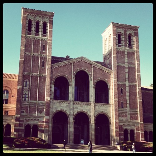 Breathtaking. I love my college. #UCLA