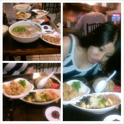 Ramennnnn time yee. Hope you liked it Kathy. #Food #ramen #japanese #shinshengumi #foodgasm #foodporn #instafood #instagood #Foodsagram #family  (at Shinsengumi Hakata Ramen)