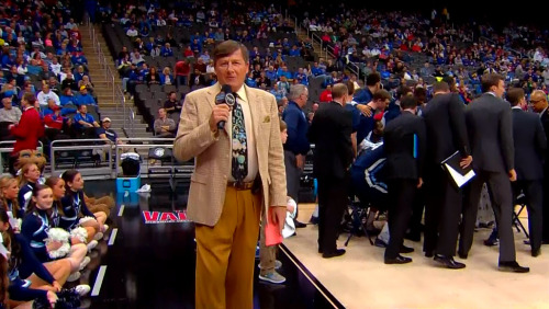 3/22/2013 - Villanova vs. North Carolina Craig Sager 1st quarter sideline report