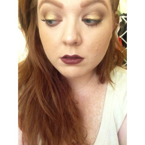 #motd #makeup #mac #yelloweyeshadow #verve