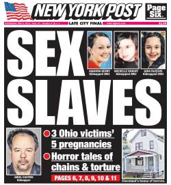New York Post front page for Wednesday, May 8