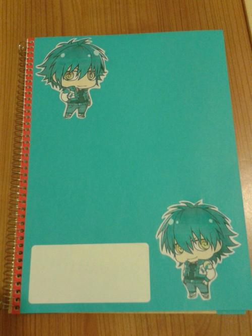 slyblue-jellyfish:  My DRAMAtical notebooks *w* For the school, lol.