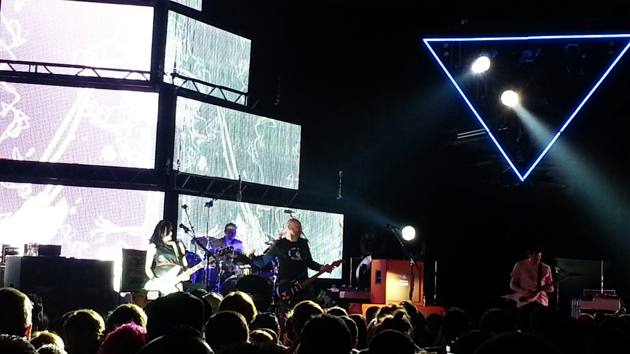 Smashing Pumpkins at the Palladium in Dallas Tx . Was an awesome show!