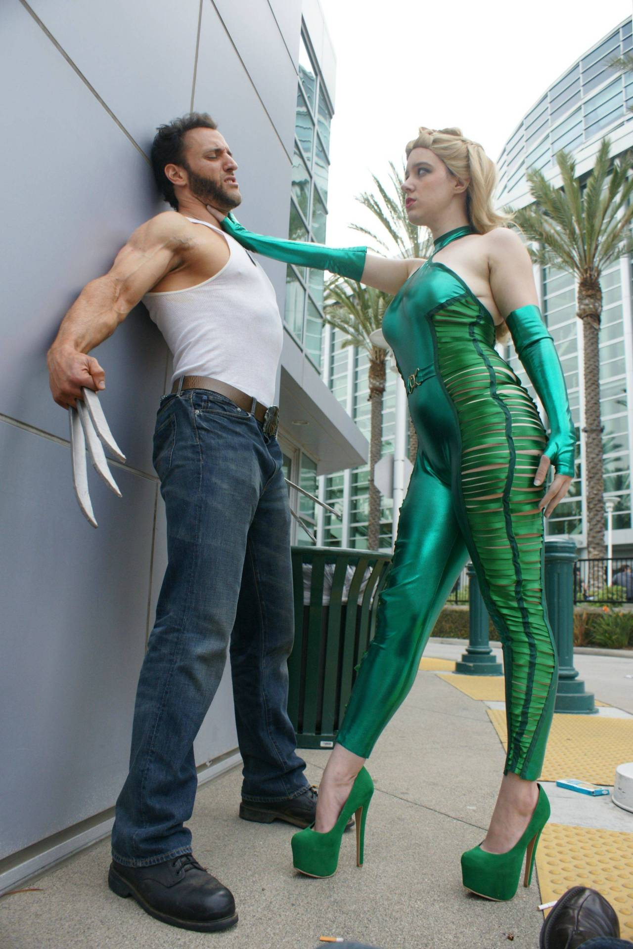 Wolverine and Madame Hydra