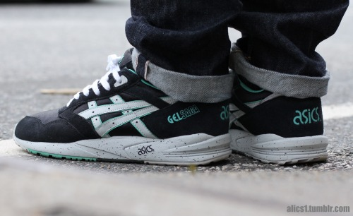 alics1:  Asics Gel Saga 'Mint' Model : Marcel M.