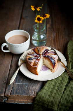 foodtheatre:    Plum, Rosemary, and Brandy Cakes