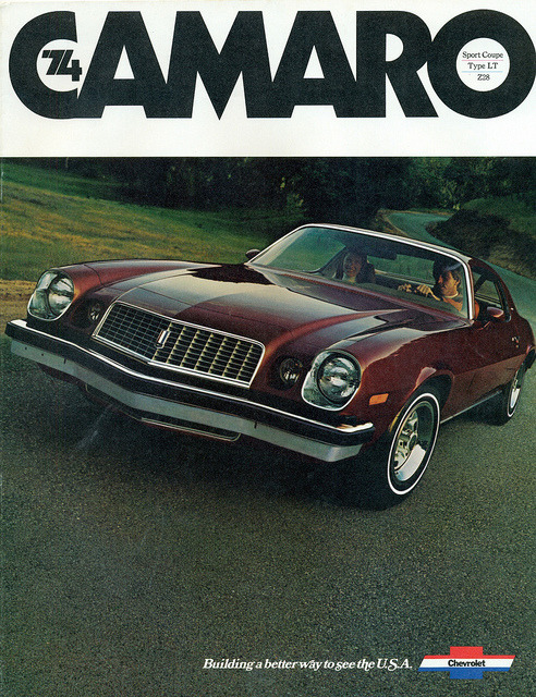 1974 Chevrolet Camaro Sport Coupe by coconv on Flickr.1974 Chevrolet Camaro Sport Coupe