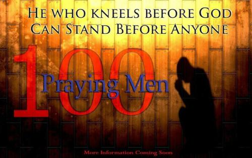 He who kneels before God, can stand before anyone   #100Strong