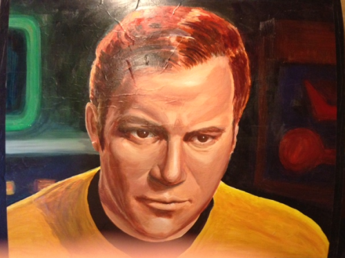 Superb Captain Kirk artwork!!