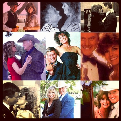 klsteelers867:  Mr. And Mrs JR Ewing. #JR and #sueellen #linda and #Larry