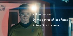 reviewinhaiku:  Star Trek Into Darkness