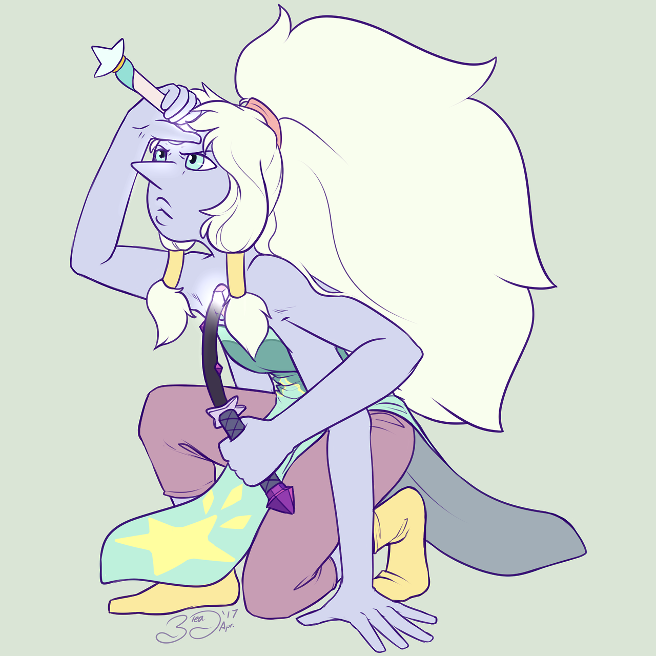 Pearlmethyst week Day 7 - Opal [Because we all still Hopal for Opal] Alright this closes out the Week! even either everything being late a bit, each day I still found this a lot of fun and really...