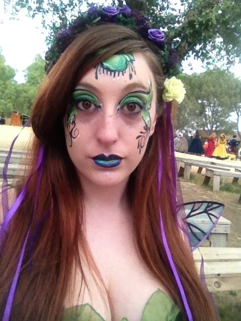 Ren fair, may 5th! :) it was a great day!