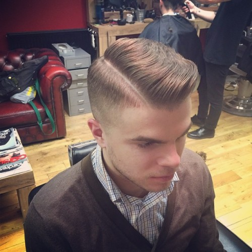 FARMBOY, bucksbarbers: Gents cut by @wallace1h 👌😏 #taper...