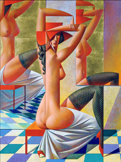 hoodoothatvoodoo:  'Mirrors' Georgy Kurasov 2005 You may have gathered by the number of these I've posted that I'm rather fond of them ;)