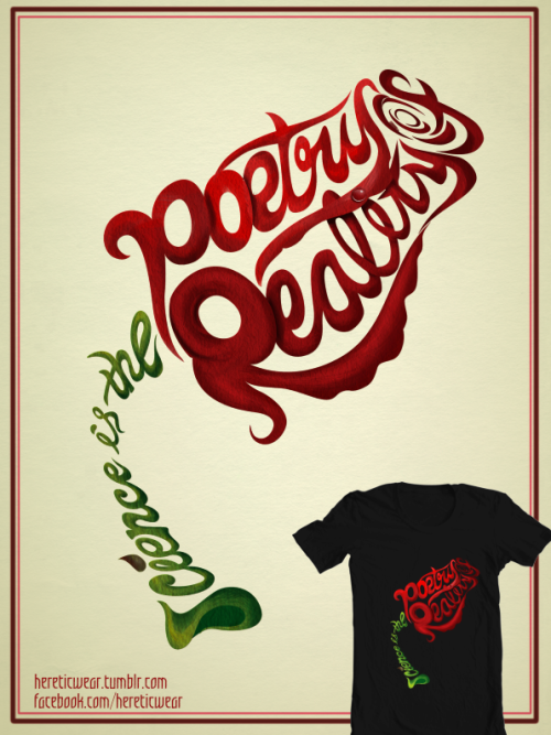 hereticwear:  Science is the Poetry of Reality - Richard Dawkins T's, Posters, Framed Prints