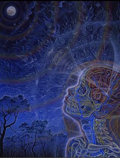 -delta-9-:  Open Your Third Eye.  -Alex Grey Artwork.
