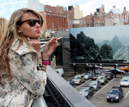 smoking in new york city.