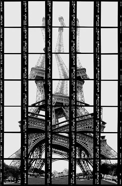 Paris, Tour Eiffel, 1997, BW-Print by Thomas Kellner