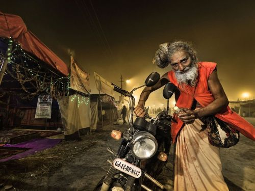 nationalgeographicdaily:  Sadhu, IndiaPhoto: Massimiliano Sticca