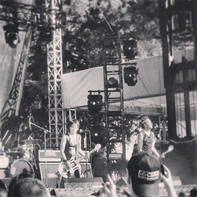 #SoCool seeing @joanjett at #BRNV @Bottlerocknapa #NapaValley is awesome!  (at Napa Valley Expo)