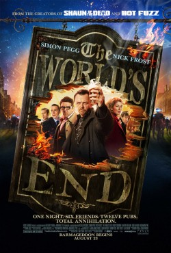 popculturebrain:  Poster: 'The World's End' | Film Thrasher