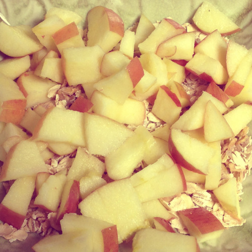 apples & oats🍎😋