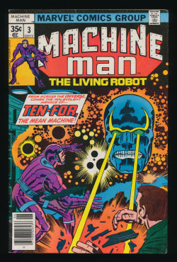 Machine Man #3(Jun. 1978)