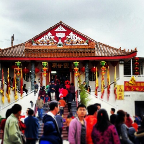 Happy Chinese New Year! #dongchangdongchang  (at Kwan Ying Temple)