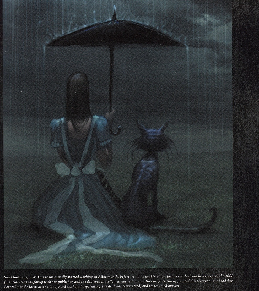 The Art of Alice: Madness Returns Alice & Cheshire Cat