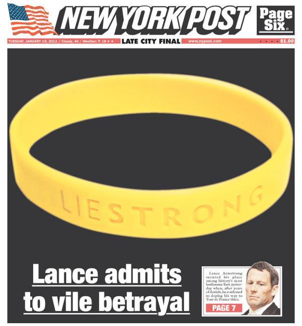 Pic: The front page of this morning's New York Post.