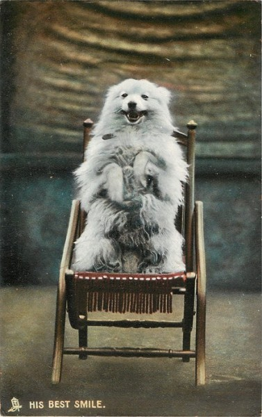 lostsplendor:  Best Smile: Photochrome Postcard c. 1900s