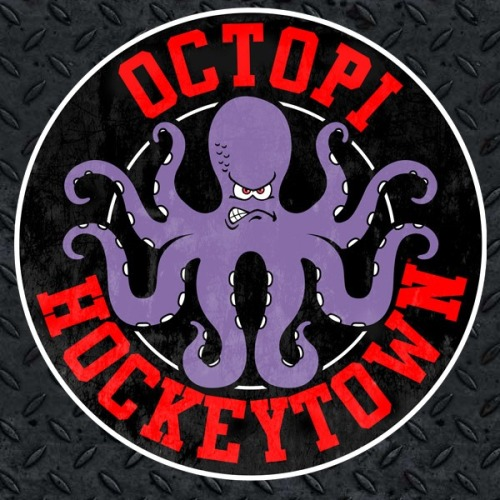 grindline33:  Octopi Hockeytown  Up 2-1 baby!