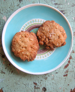 salted butterscotch oatmeal cookies by you can count on me on Flickr.