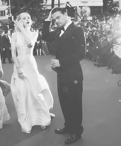 "Leo and Carey | ""The Great Gatsby"" Cannes Premiere (May 15th, 2013)"