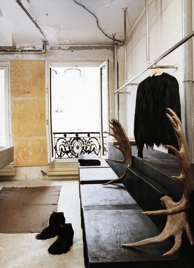 gaws:  Rick Owens Bathroom