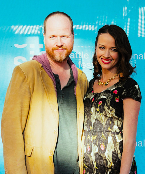 Joss Whedon and Amy Acker (16/5/13)