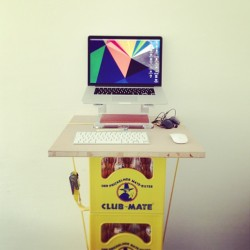 Standing desk diary #6  (at doctape HQ)