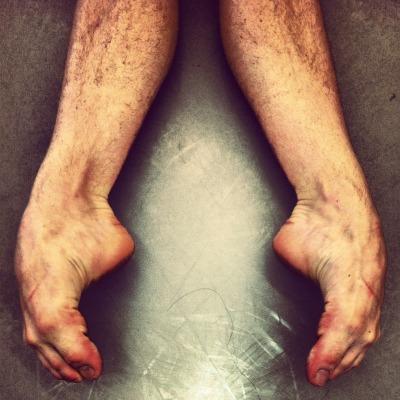 I am a dancer. These are my friend's feet. Taken by cutttthroat.