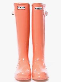 Boots Preppy hunter prep coral rain boots
