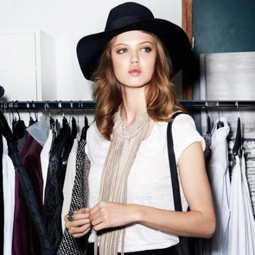 Lindsey Wixson Behind the scene of The New Icons collection