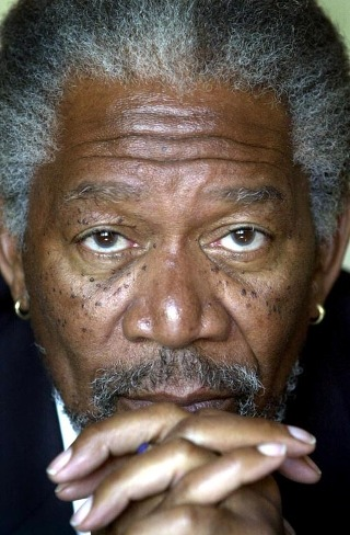 I am thinking about Morgan Freeman                                      Check-in to               Morgan Freeman on GetGlue.com