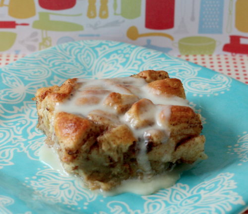 cinnamon roll french toast casserole.