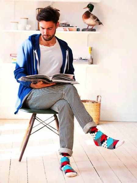 mensfashionworld:  Happy Socks S/S 2013 lookbook