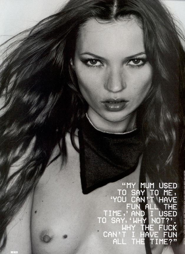 Kate by Rankin, 1999