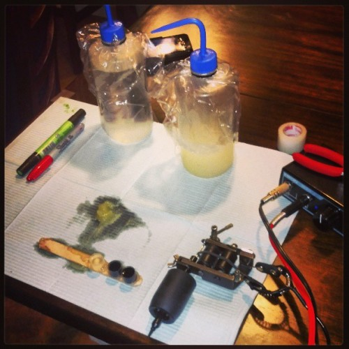 #tattooartist #tattoosetup #tattoogear #TattooGun #toolsofthetrade #equipment #avondale #arizona #GoldenTouchTattoo #DEZINEAD9 #Serv1 #arizonaflag #phoenix #bird #rising for booking @Goldentouchtattoo.com #TheDarkPhoenixRises