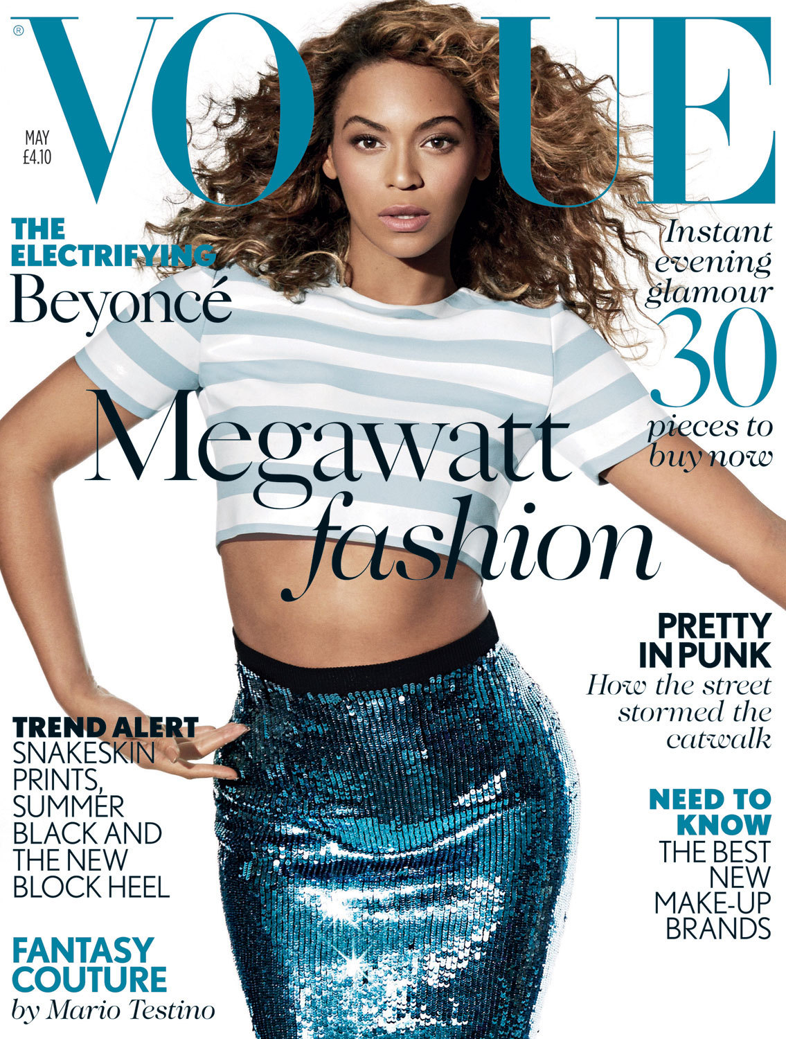 bohemea:  Beyonce - Vogue by Arthur Elgort, May 2013