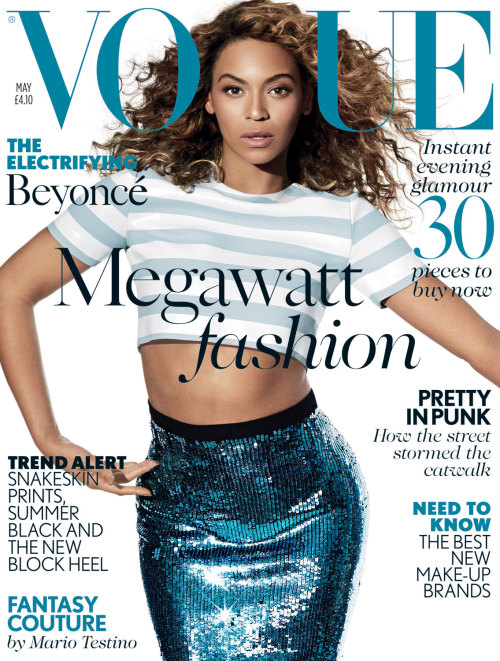 suicideblonde:  Beyonce photographed b Arthur Elgort for Vogue UK, May 2013